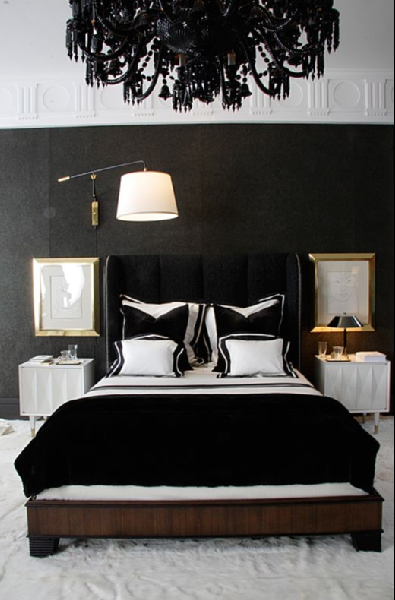 nightstands black and white bedroom black and white bedroom ideas 395x600
