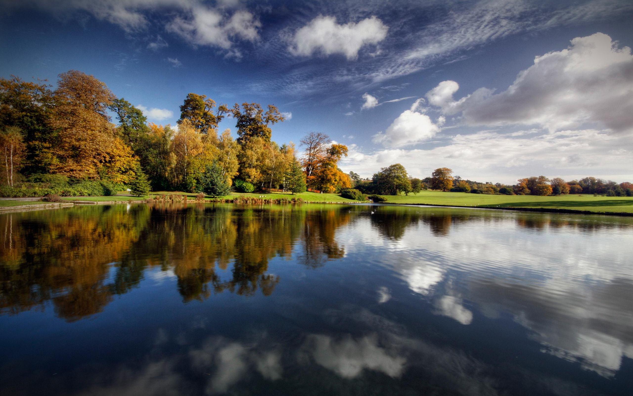Placid Lake een mooie desktop achtergronden   2560x1600 2560x1600
