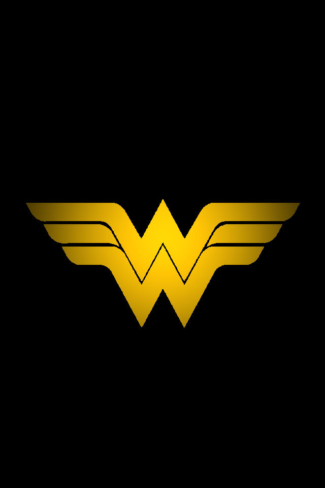 Wonder Woman Logo background by KalEl7 640x960