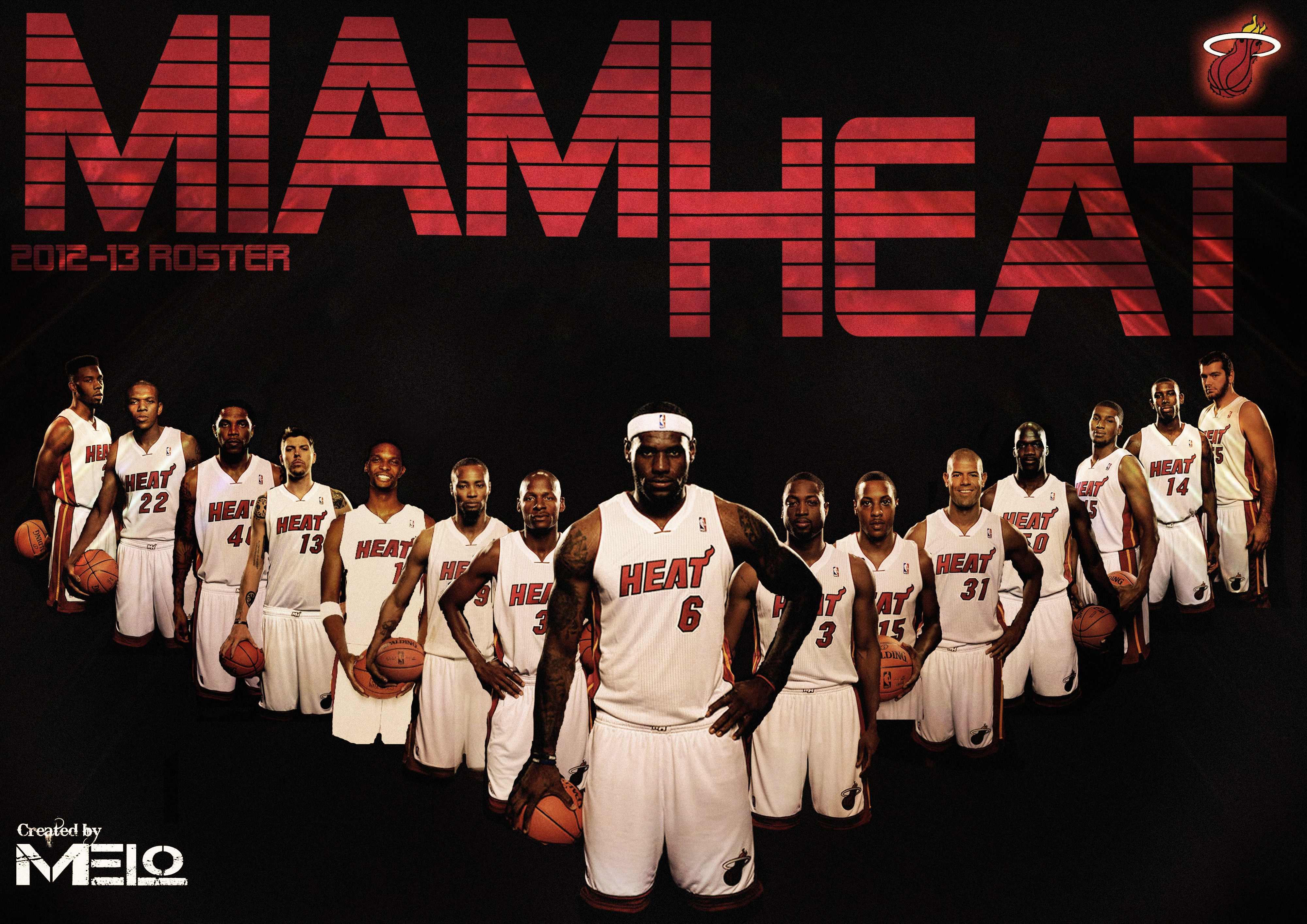 Miami Heat   Wallpapers Pictures Images Pics Photos Desktop 4000x2828