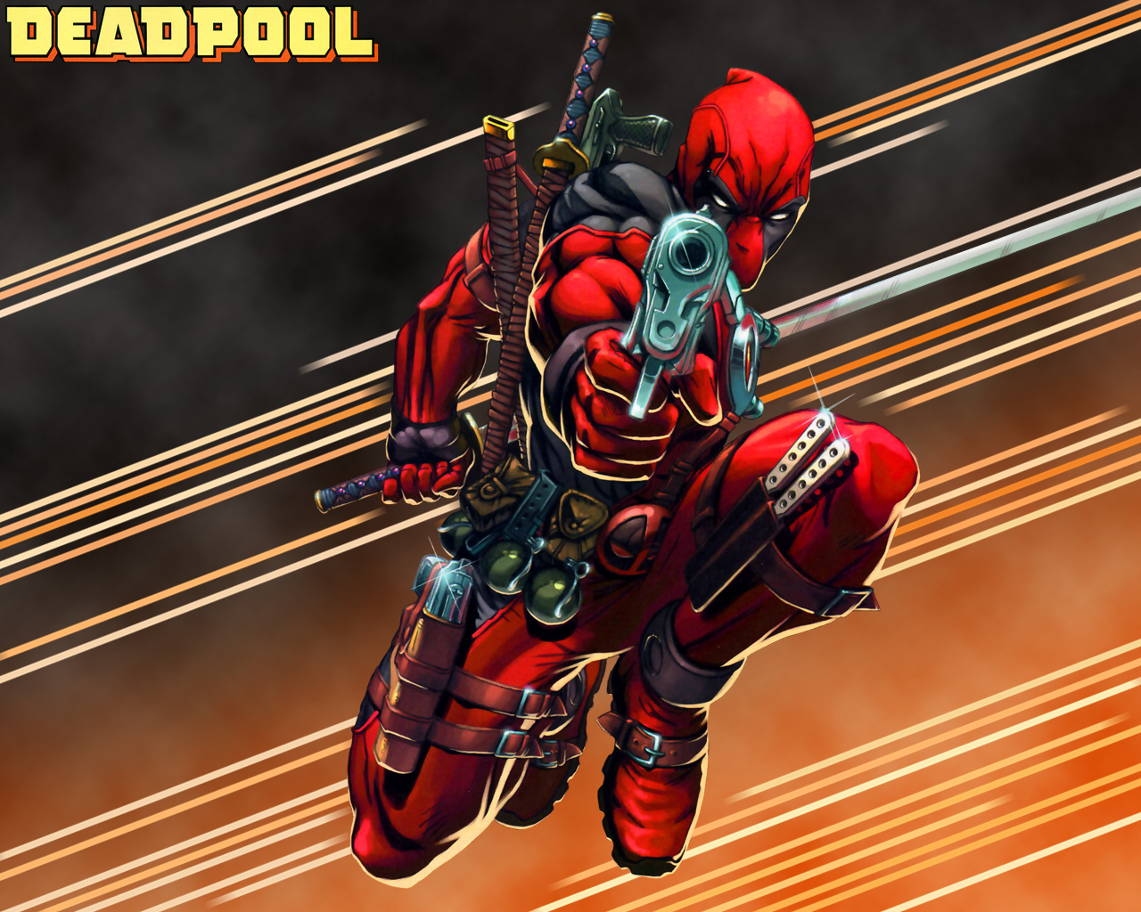 Deadpool Deadpool 1280x1024