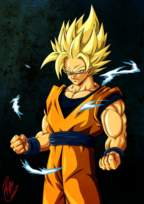 Free Download Goku Super Saiyan 2 Hd Wallpaper Background Images