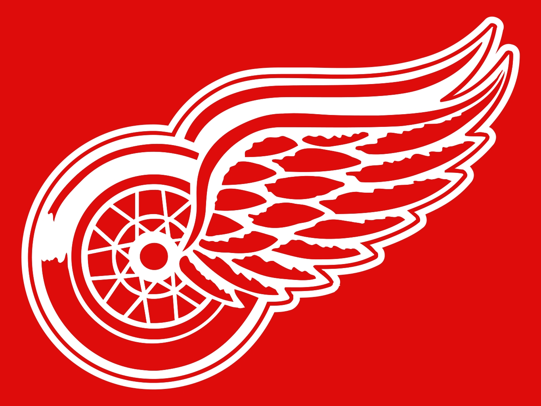 Red Wings Logo HD Wallpapers For Desktop 1365x1024