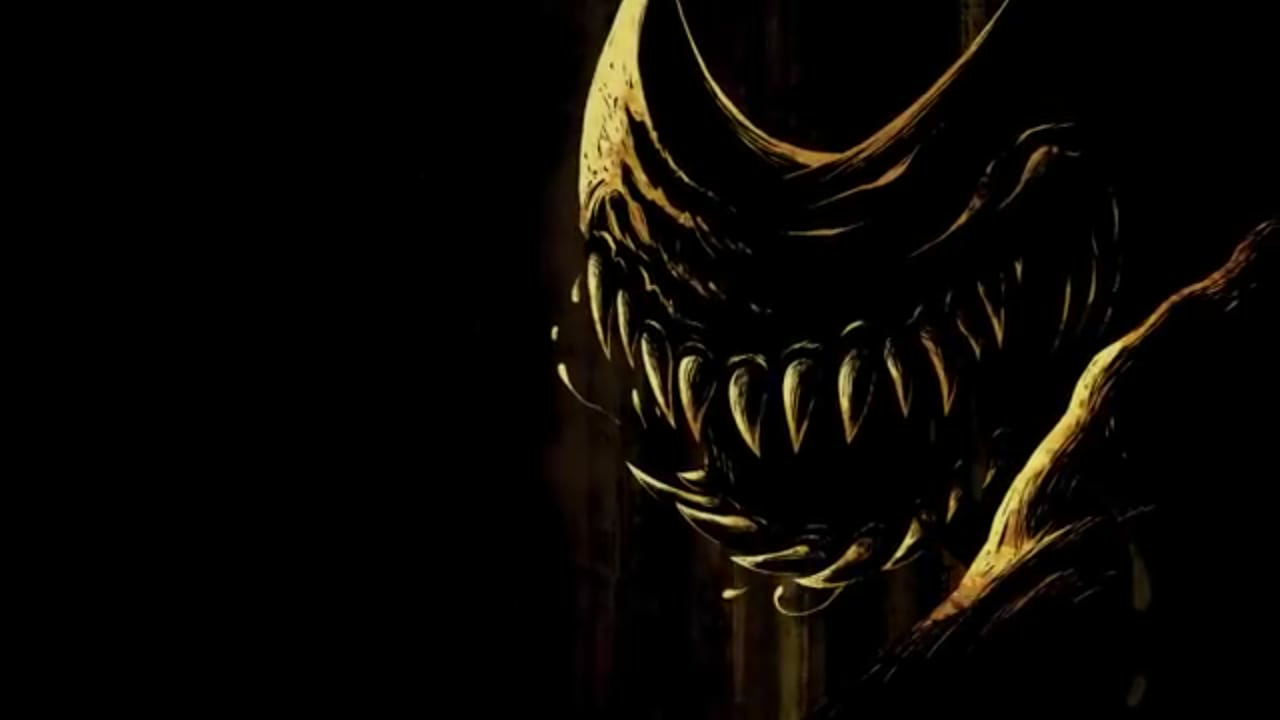 Beast Bendy in credits BATIM Bendy the Ink Machine Ink Beast 1280x720