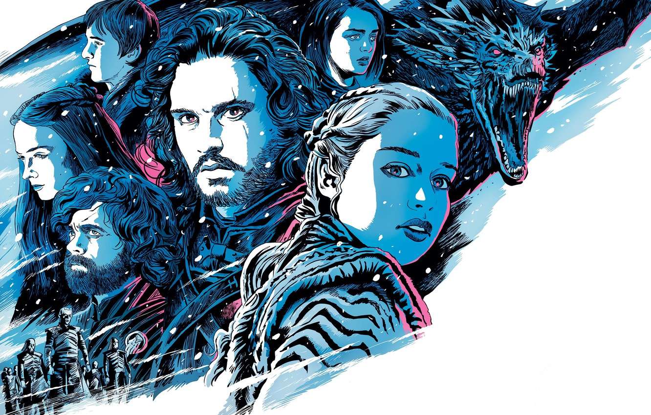 Wallpaper Game of Thrones Game of thrones Season 8 Season 8 1332x850