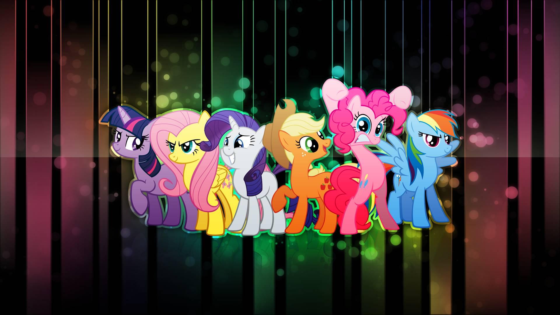 Free Download Mane6 My Little Pony Friendship Is Magic Wallpaper