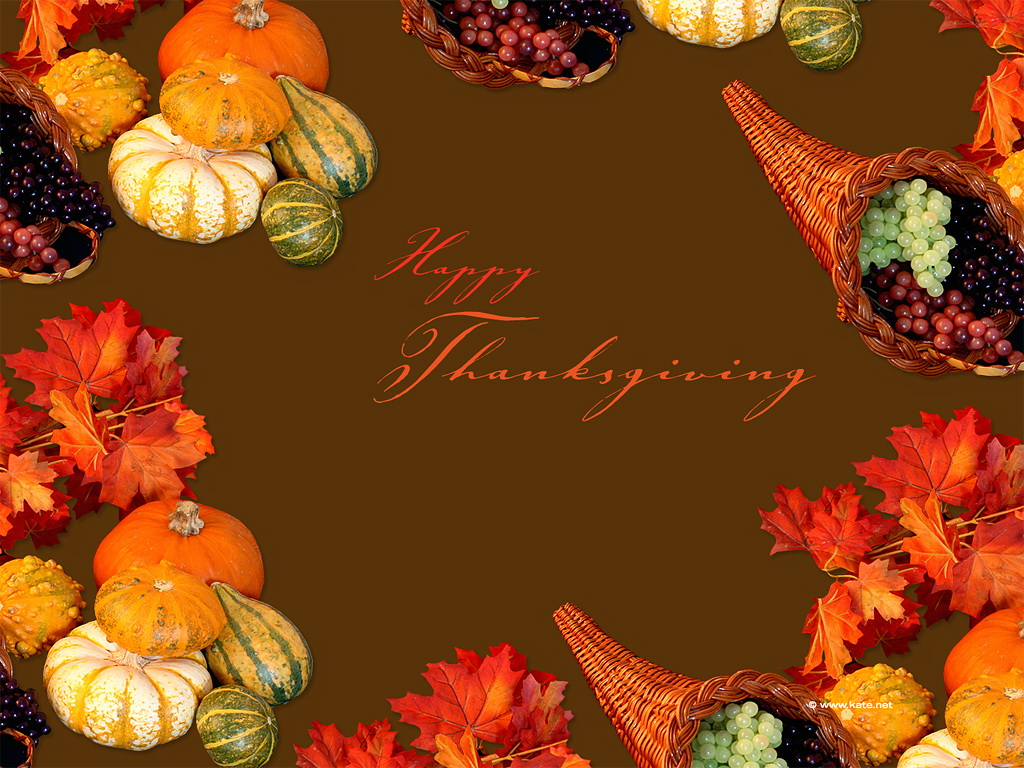 Thanksgiving Wallpapers Screensavers and Pictures Download 1024x768