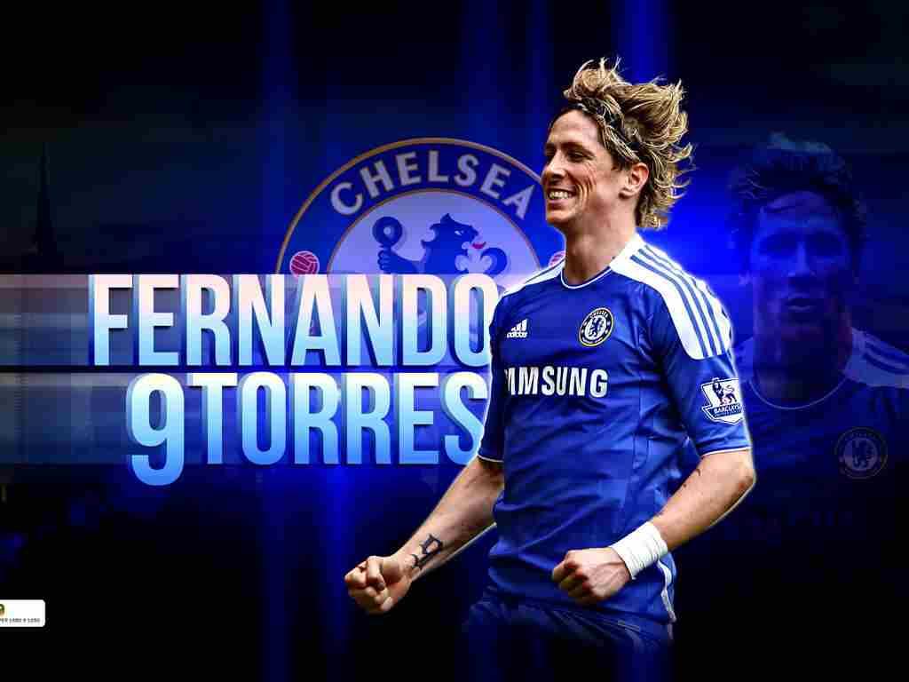 Fernando Torres high definition wallpaper Chelsea player 1024x768