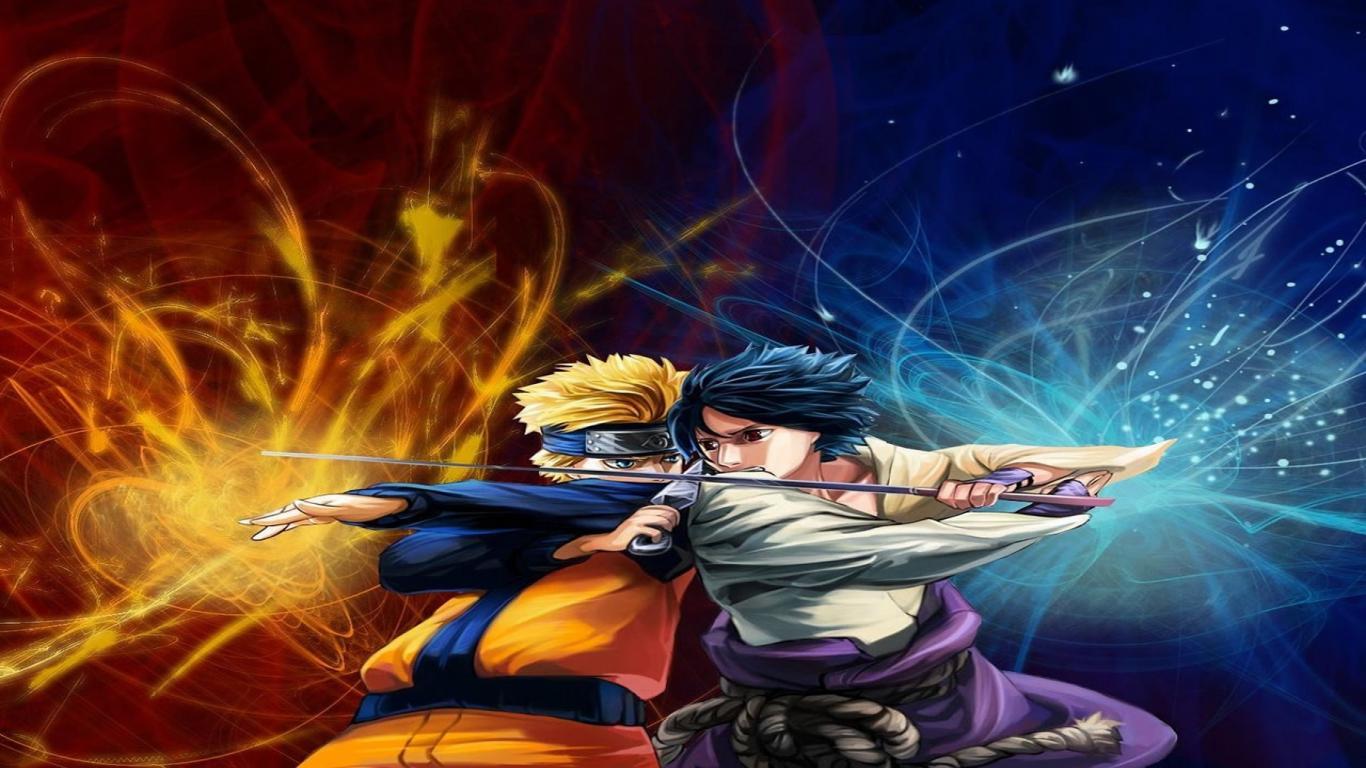 Naruto Vs Sasuke Wallpaper 7835 Hd Wallpapers Short News Poster 1366x768
