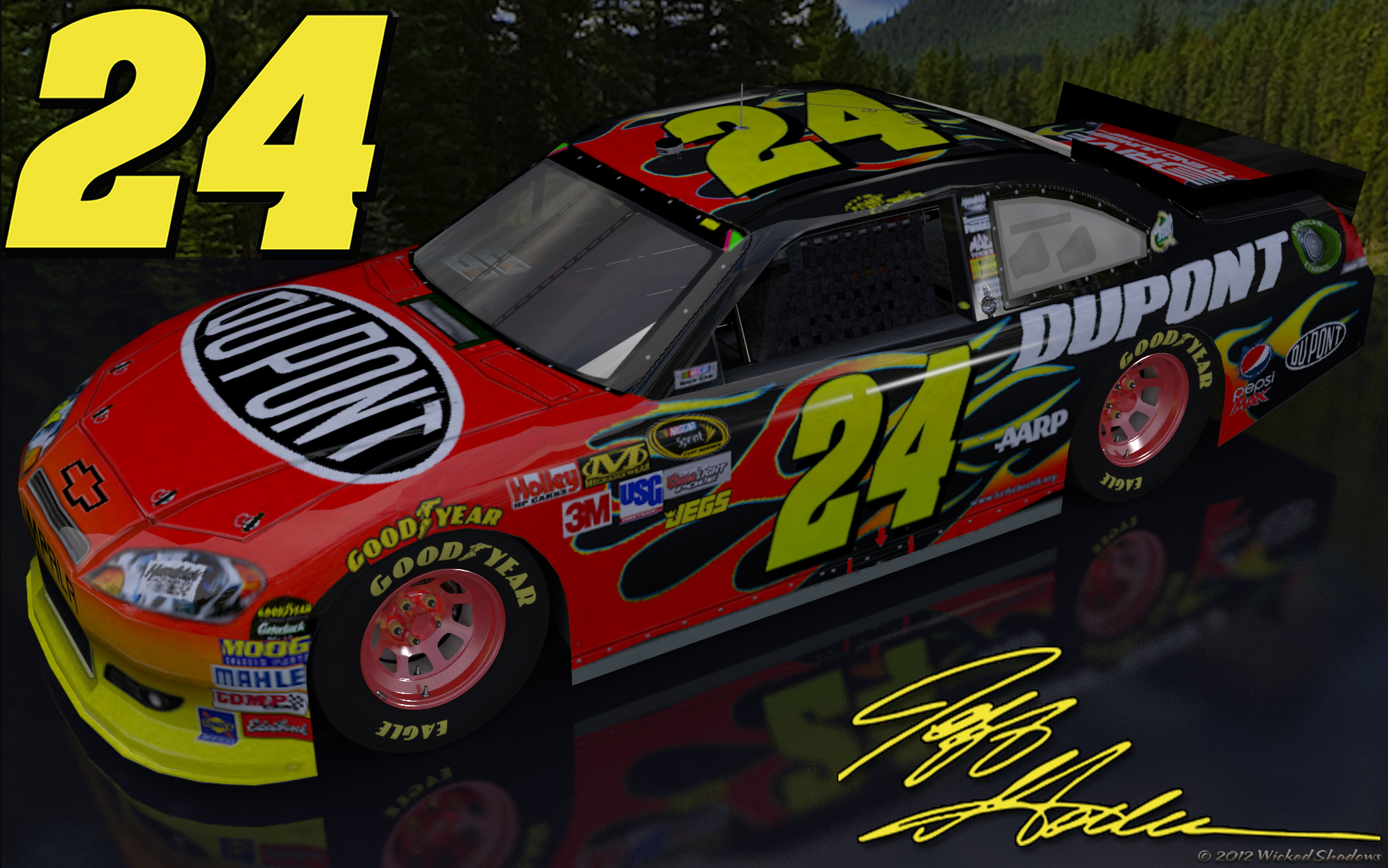 jeff gordon dupont outdoor - photo #1