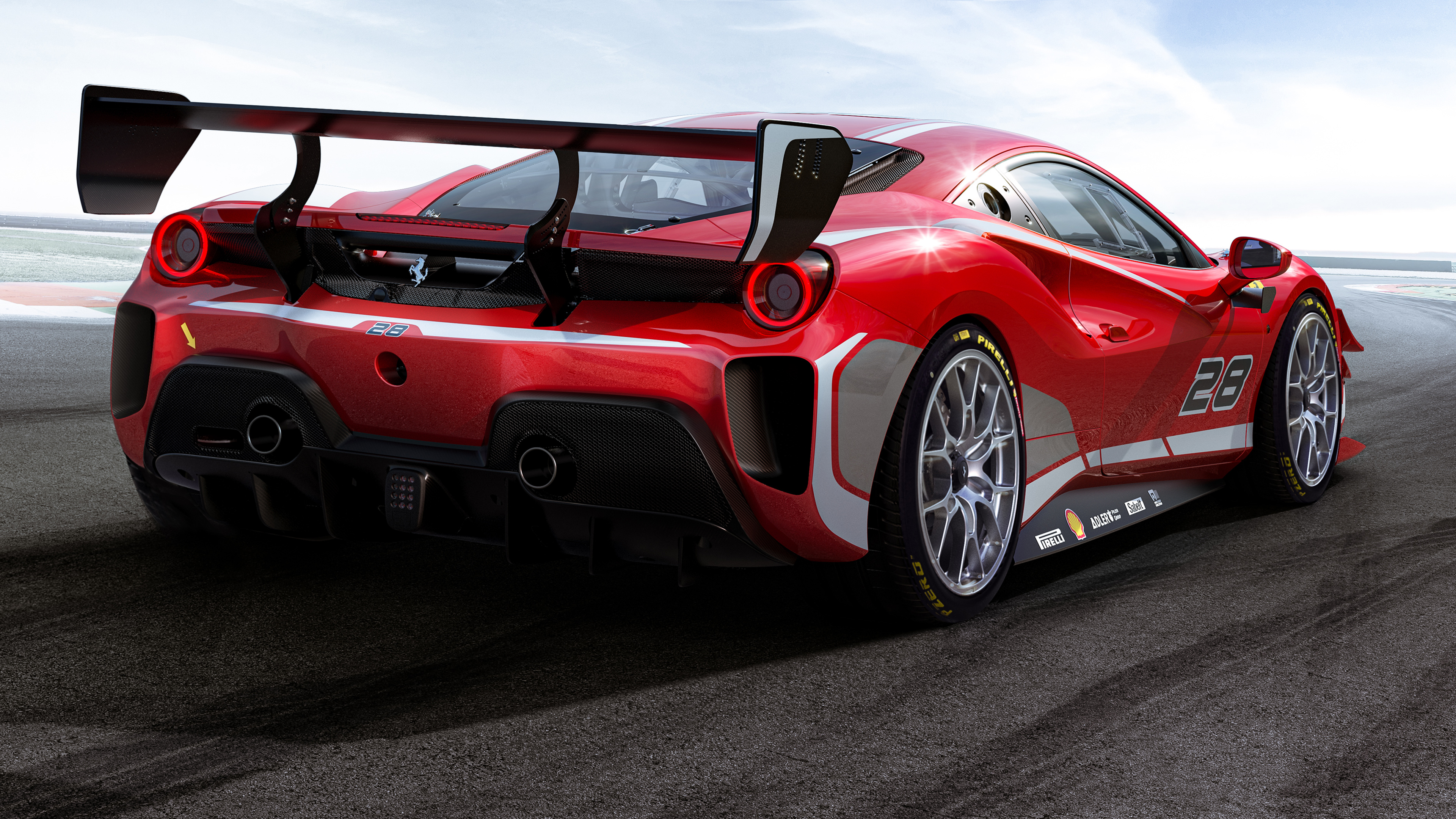 Ferrari 488 Challenge Evo 2020 4K Wallpaper HD Car Wallpapers 3840x2160