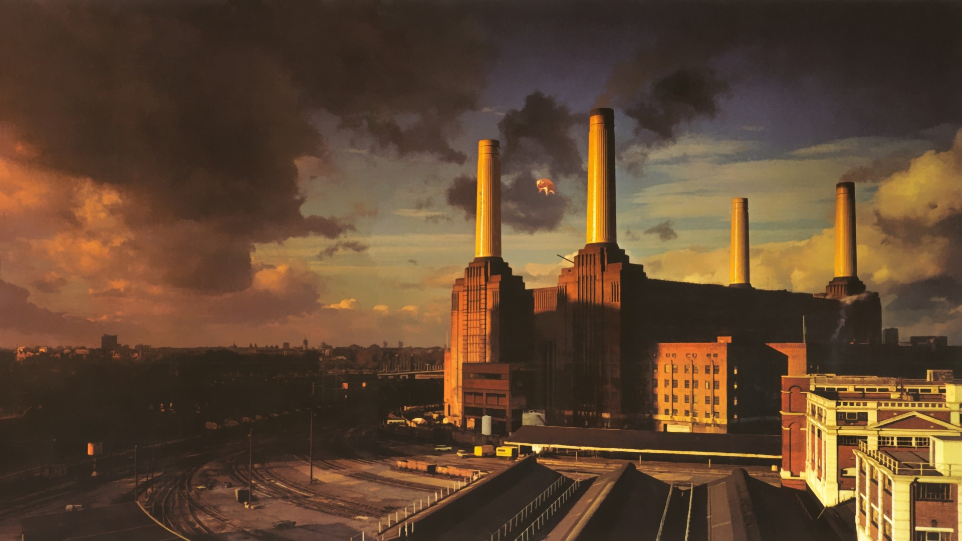 Fotos   Pink Floyd Animals Album Cover Cover 1920x1080