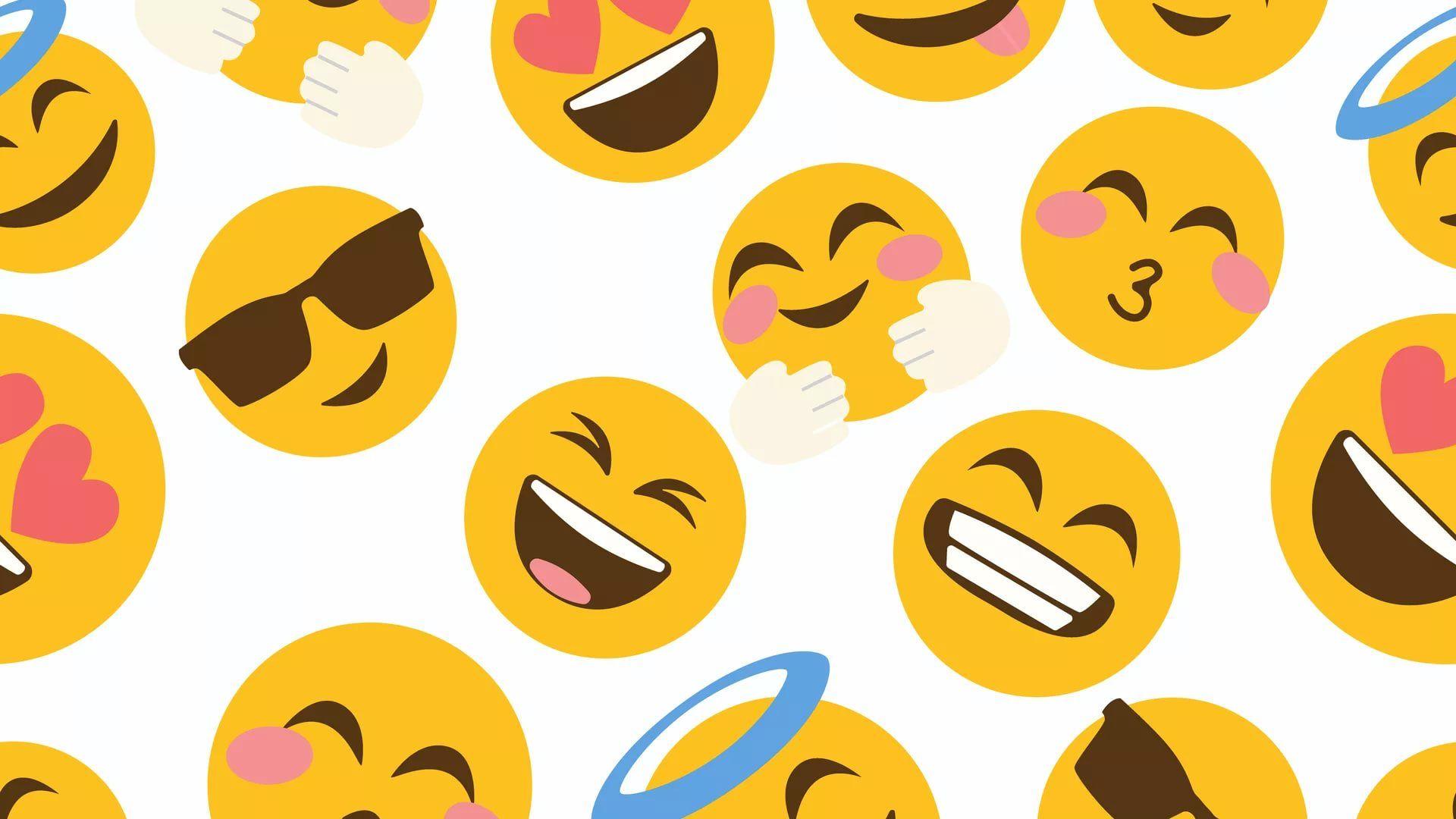 33 Cute Emoji Wallpapers   WallpaperBoat 1920x1080