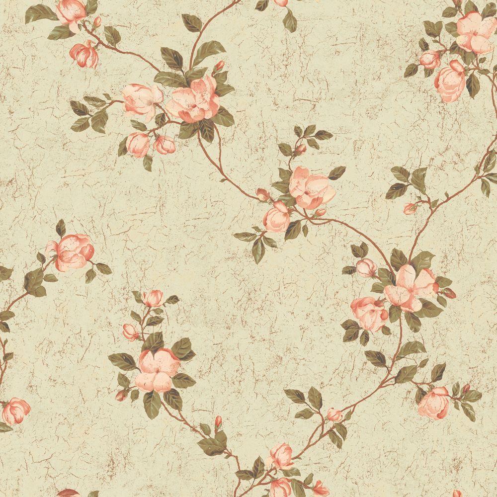 Magnolia Blossoms Wallpaper SampleThe Wallpaper Company 100640950 1000x1000