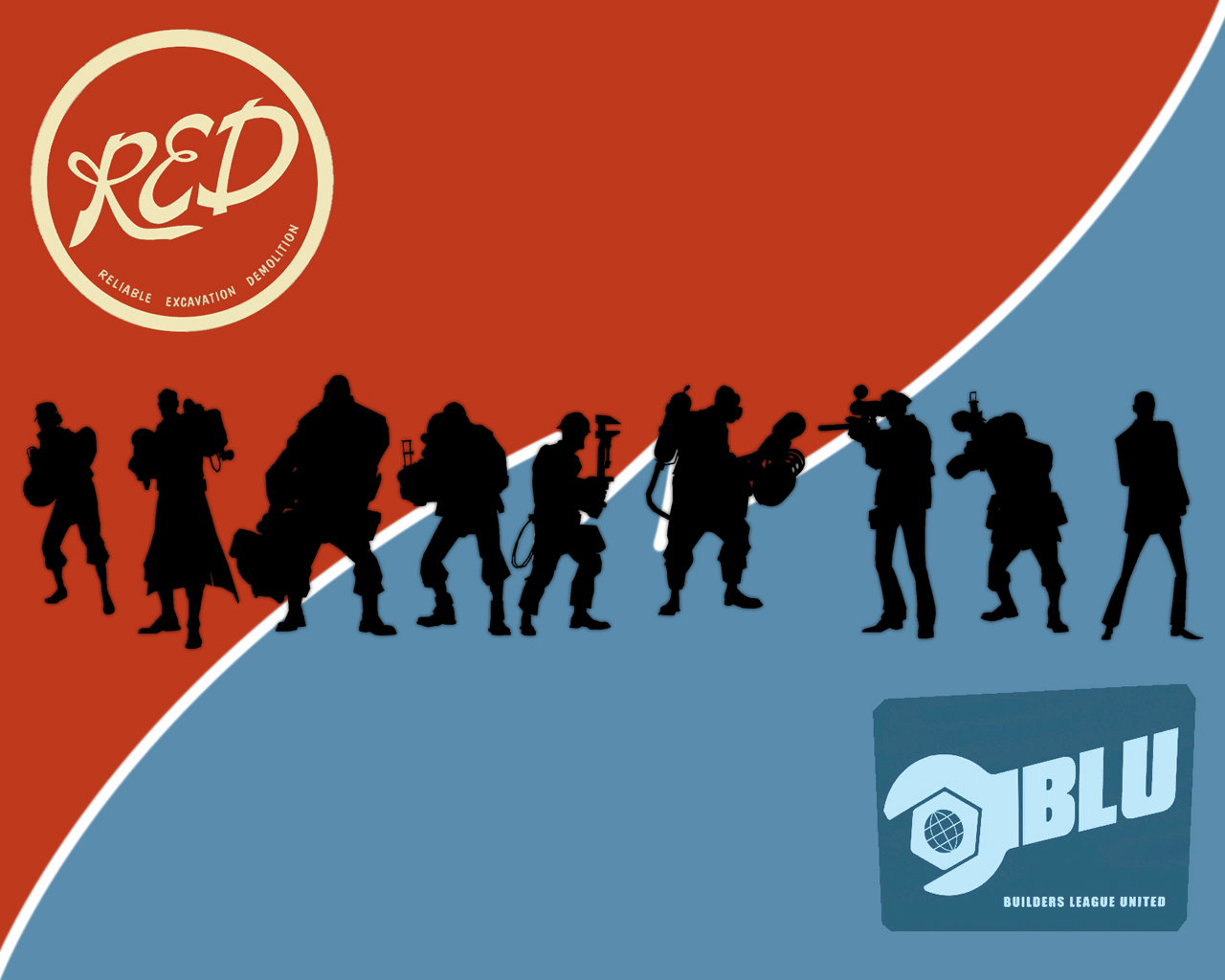 TF2 Wallpaper   New Outfit for your Desktop News Team Fortress 2 1280x1024