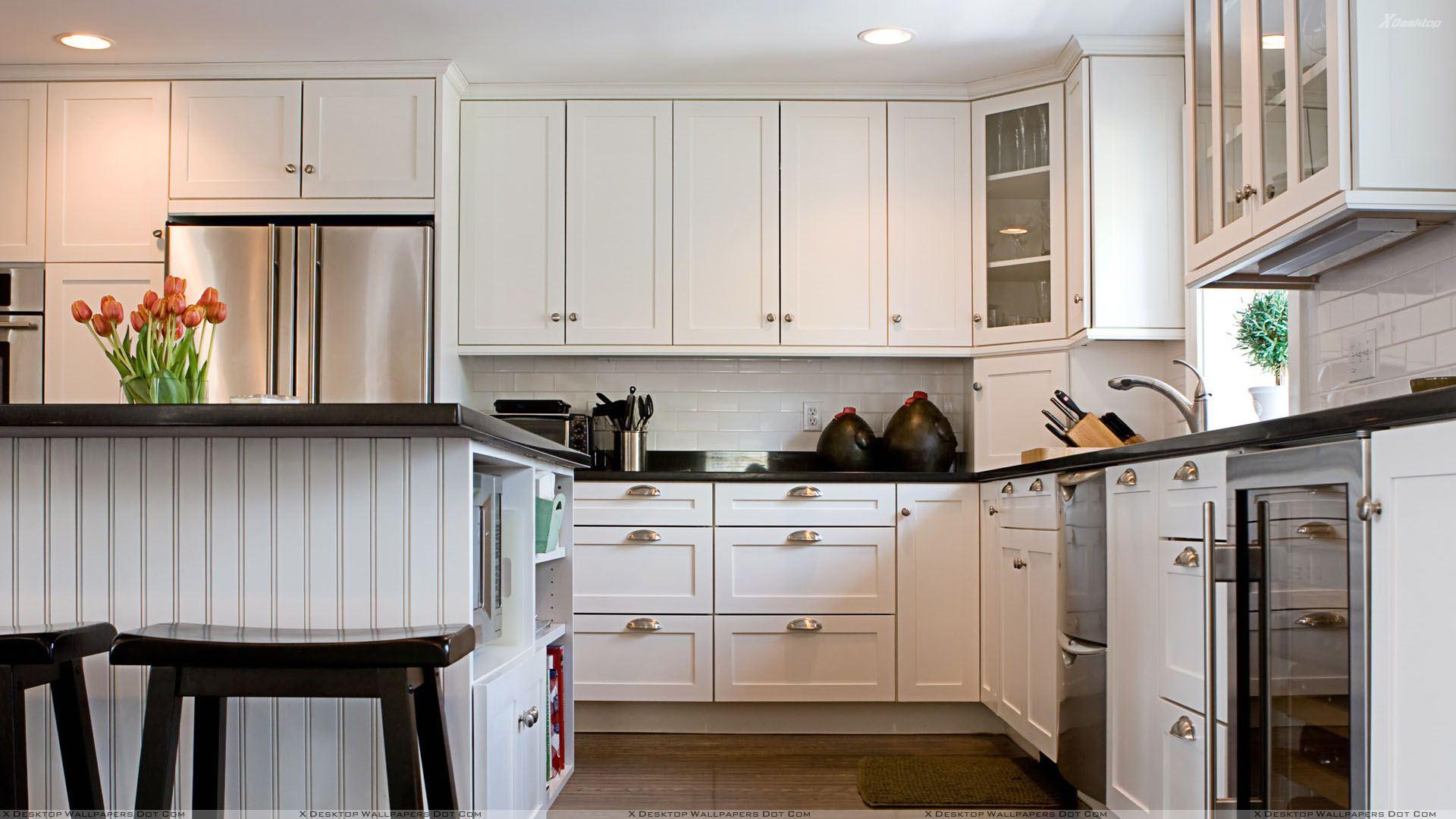 Kitchen Wallpaper with White Background - WallpaperSafari