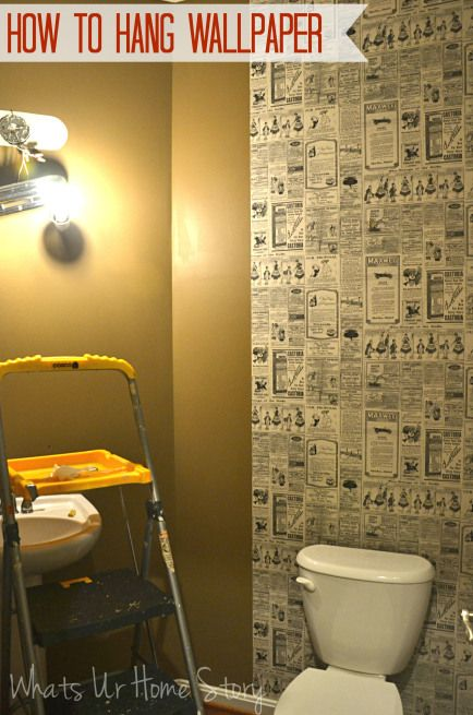 How to hang wallpaper Working with paste on the wall wallpaper www 434x655