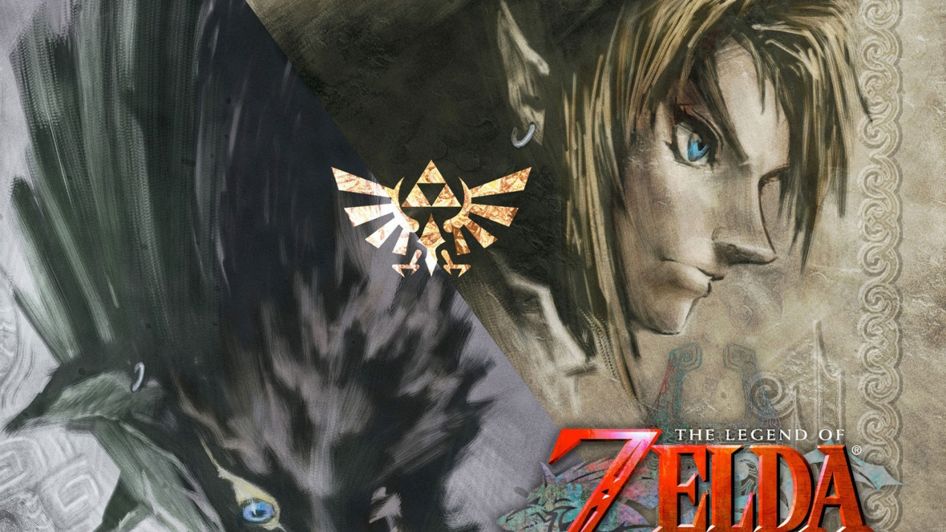 1366x768 Zelda Twilight Princess desktop PC and Mac wallpaper 1366x768