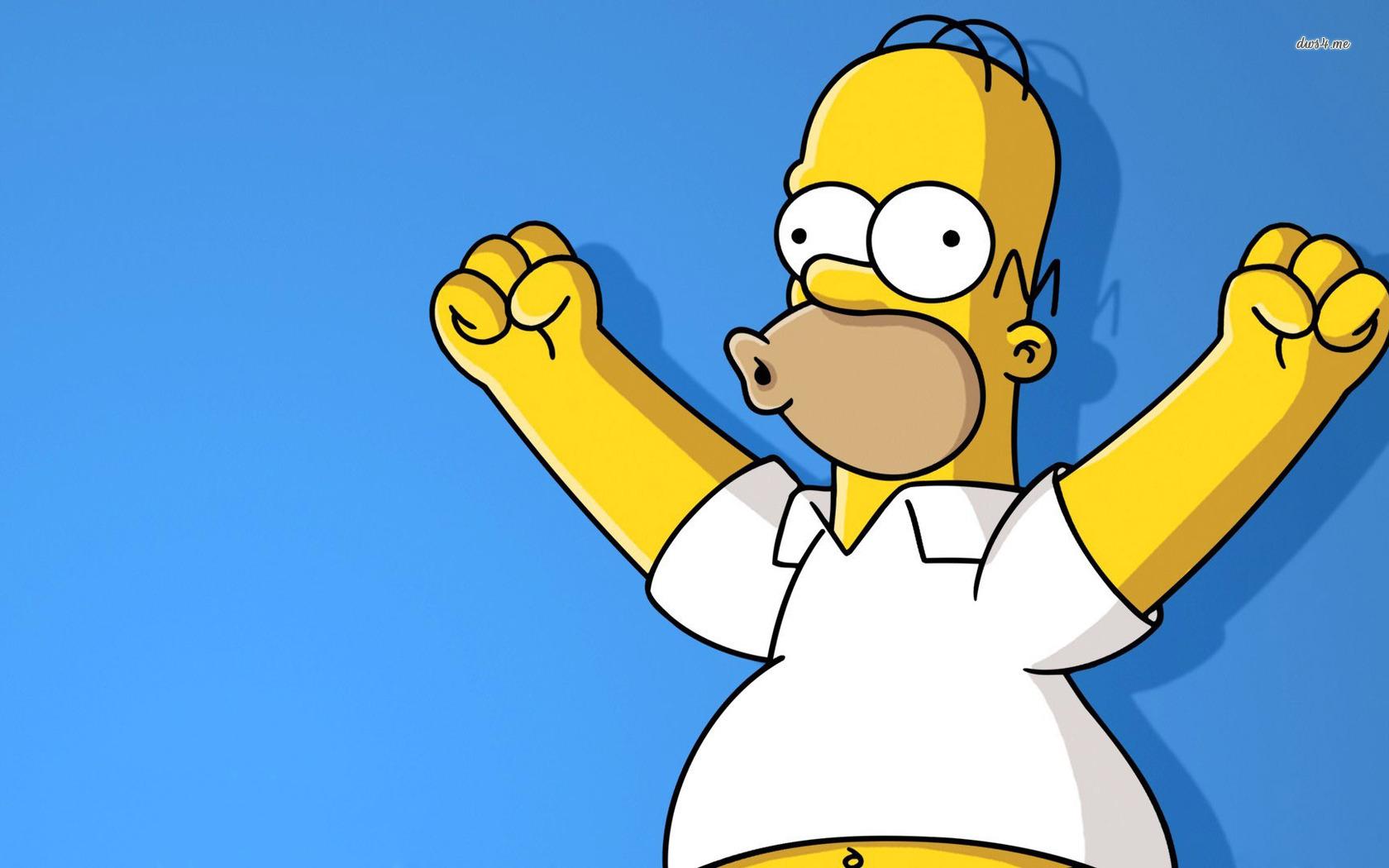 Homer Simpson wallpaper 1280x800 Homer Simpson wallpaper 1366x768 1680x1050