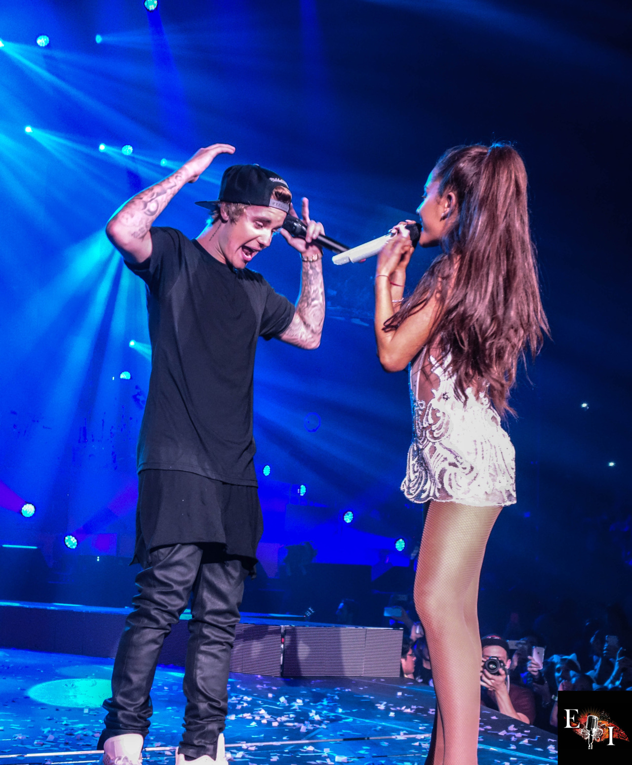Ariana Grande   Performing with Justin Bieber in Miami 1280x1548