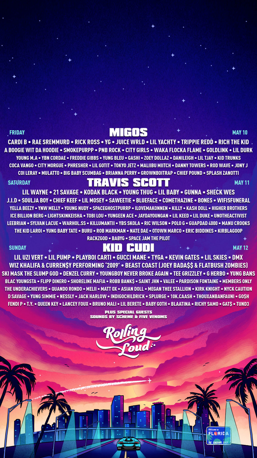 Wallpapers Rolling Loud Festival 1000x1778