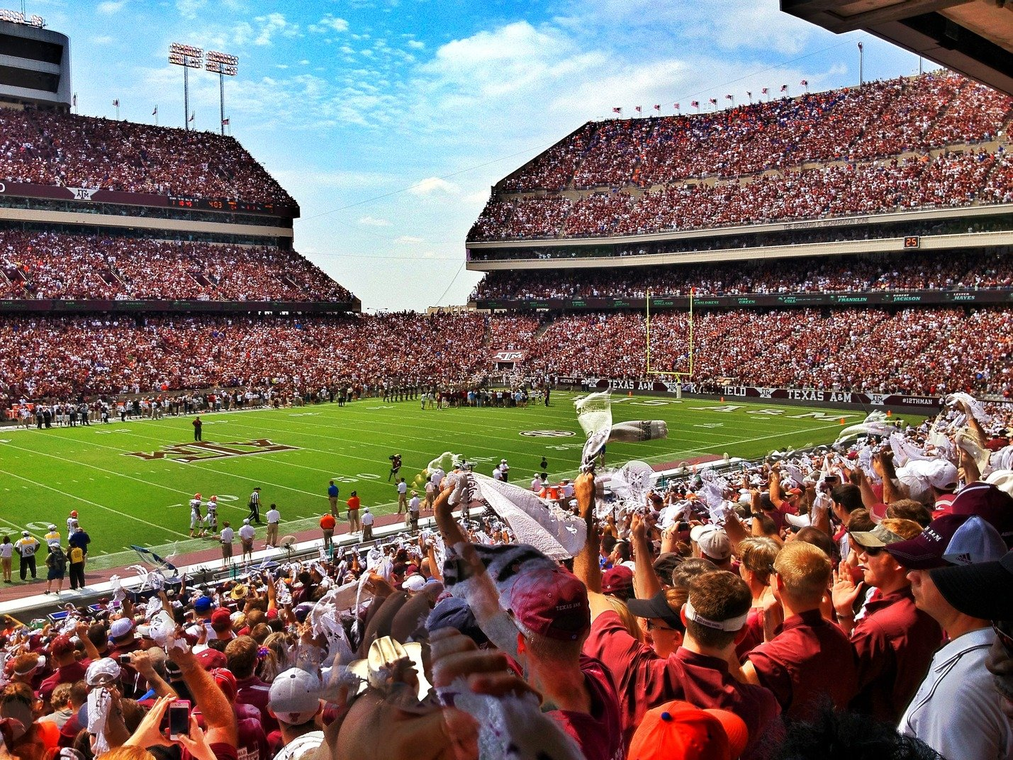 Kyle Field Wallpaper The game day kyle field 1429x1072