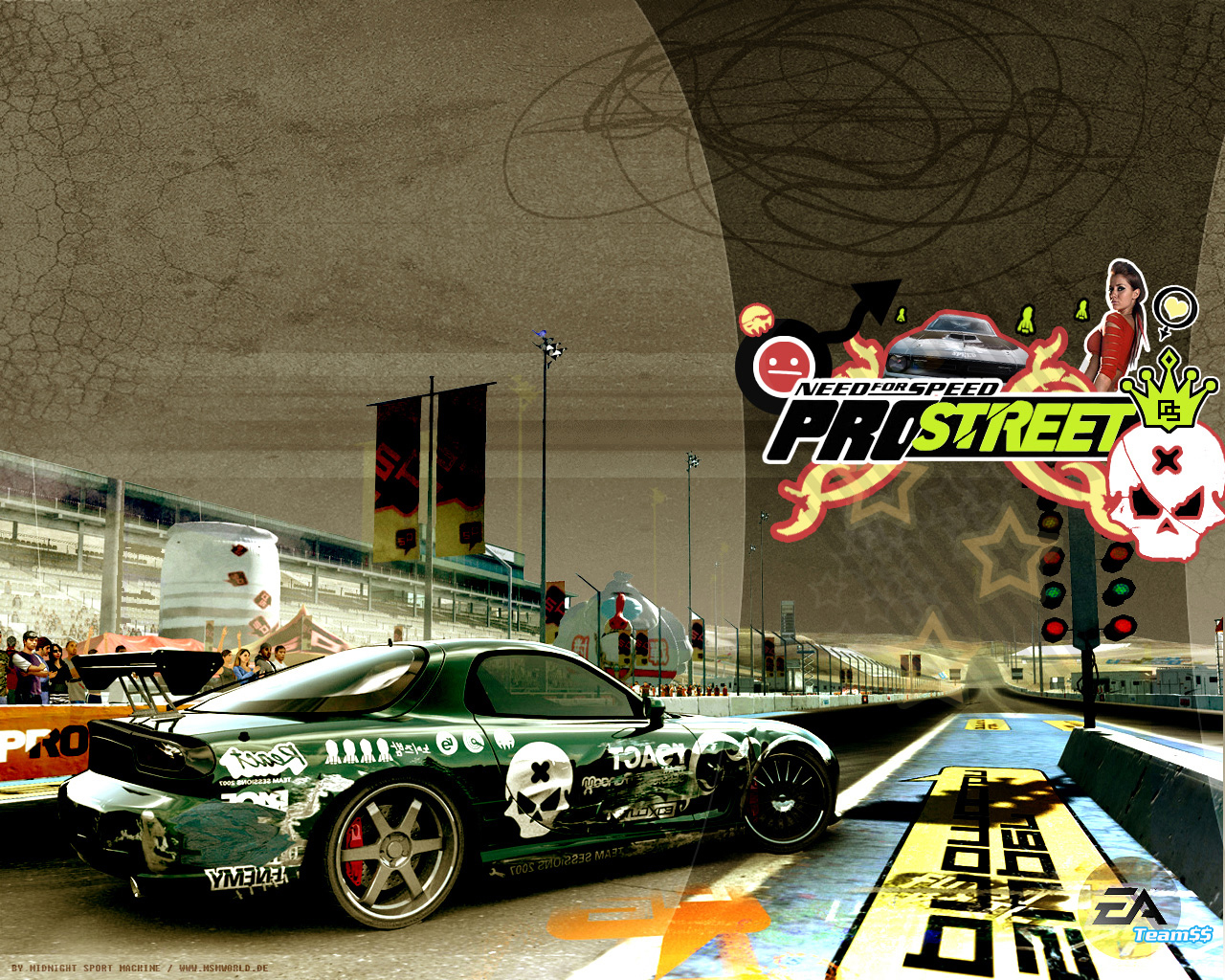 Pro Street   Need for Speed ProStreet [NFSPS] 1280x1024