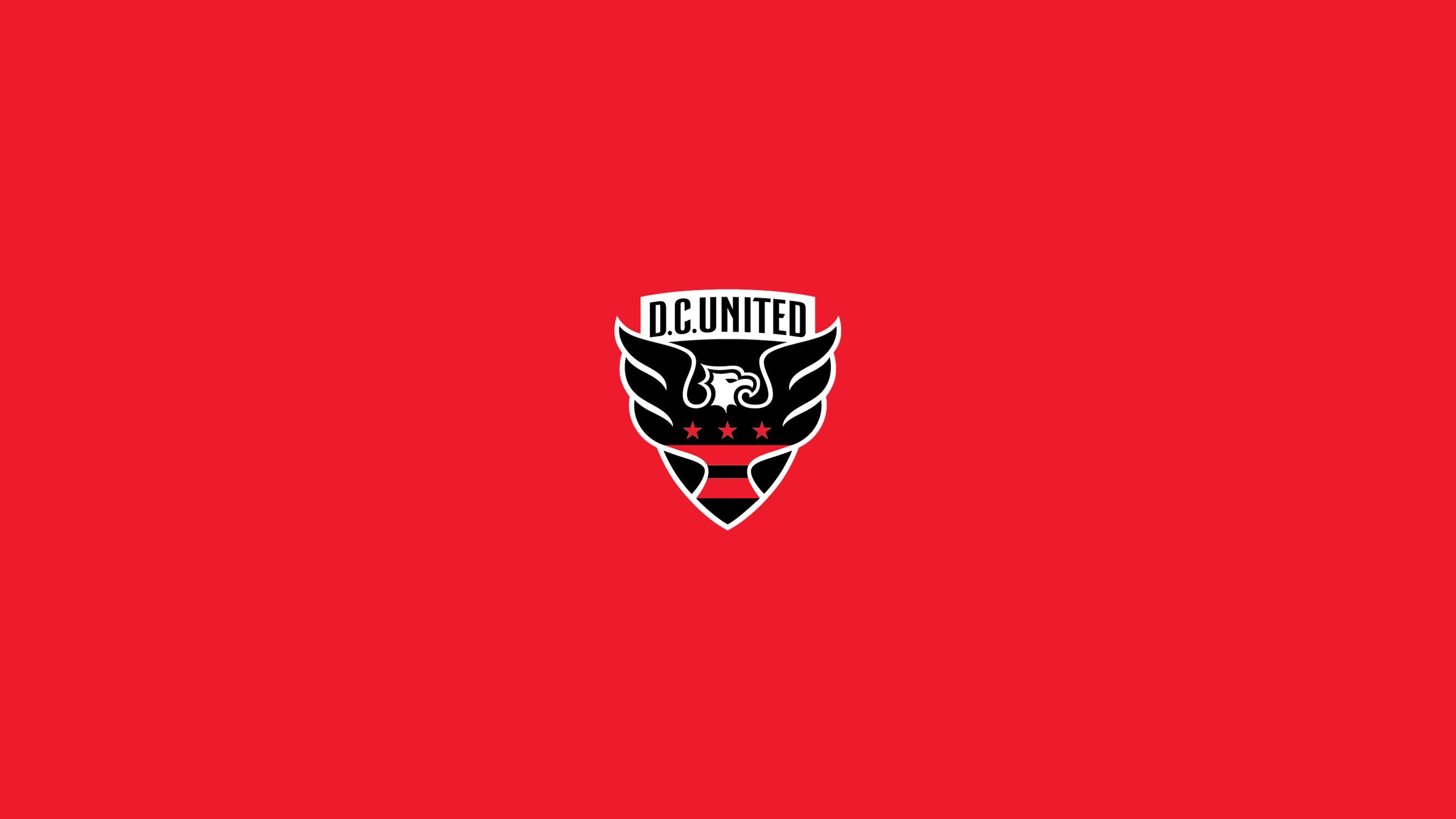 MLS D C United Logo Red wallpaper 2018 in Soccer 2560x1440