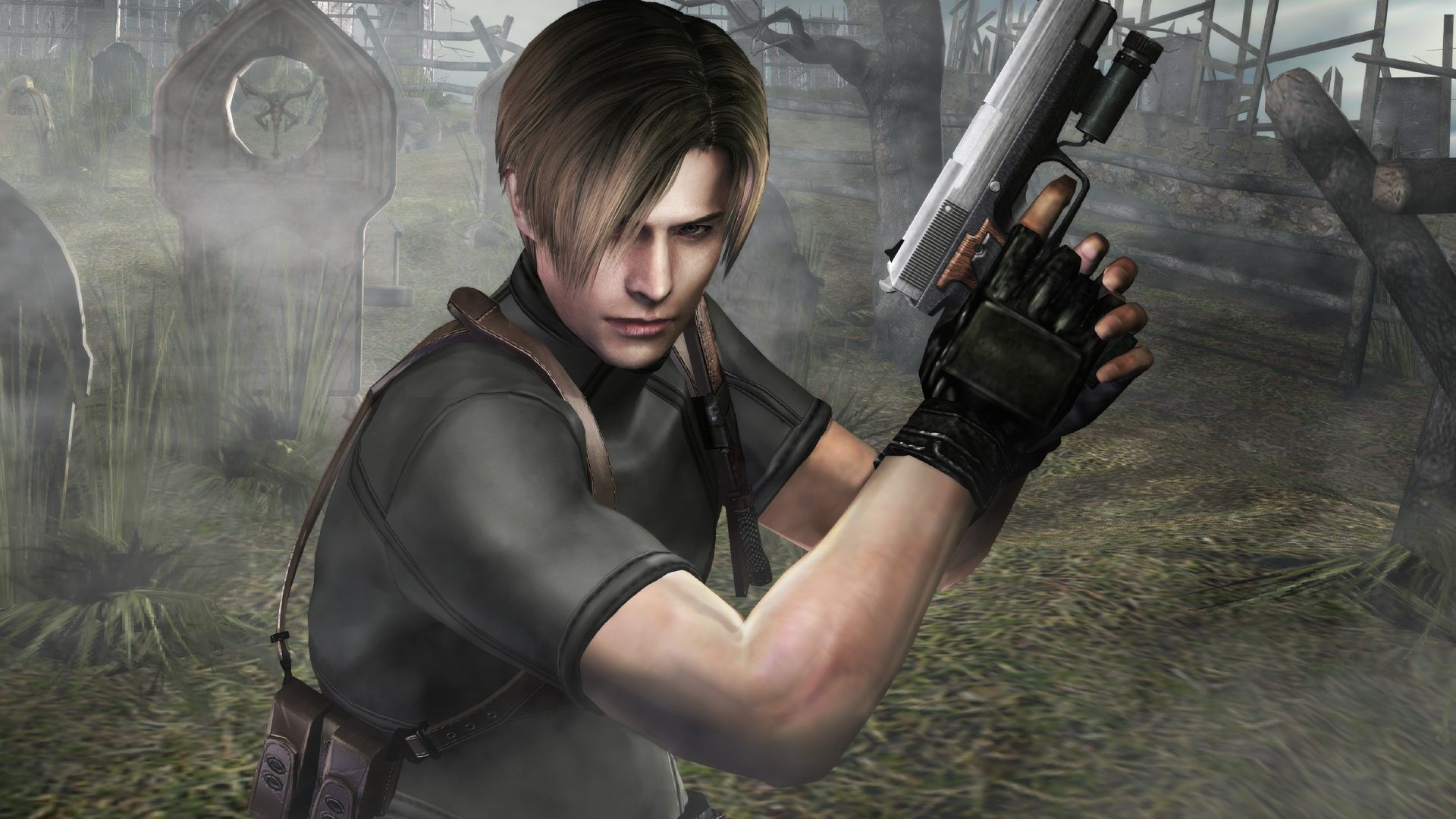 53 Resident Evil 4 Leon Wallpaper On Wallpapersafari