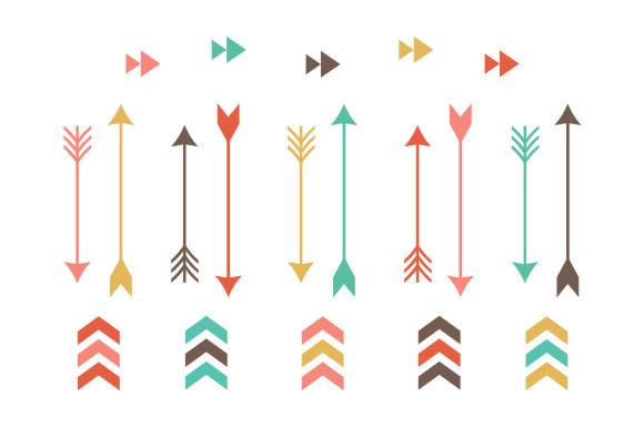 Tribal Arrow Clip Art Illustrations on Creative Market 580x386