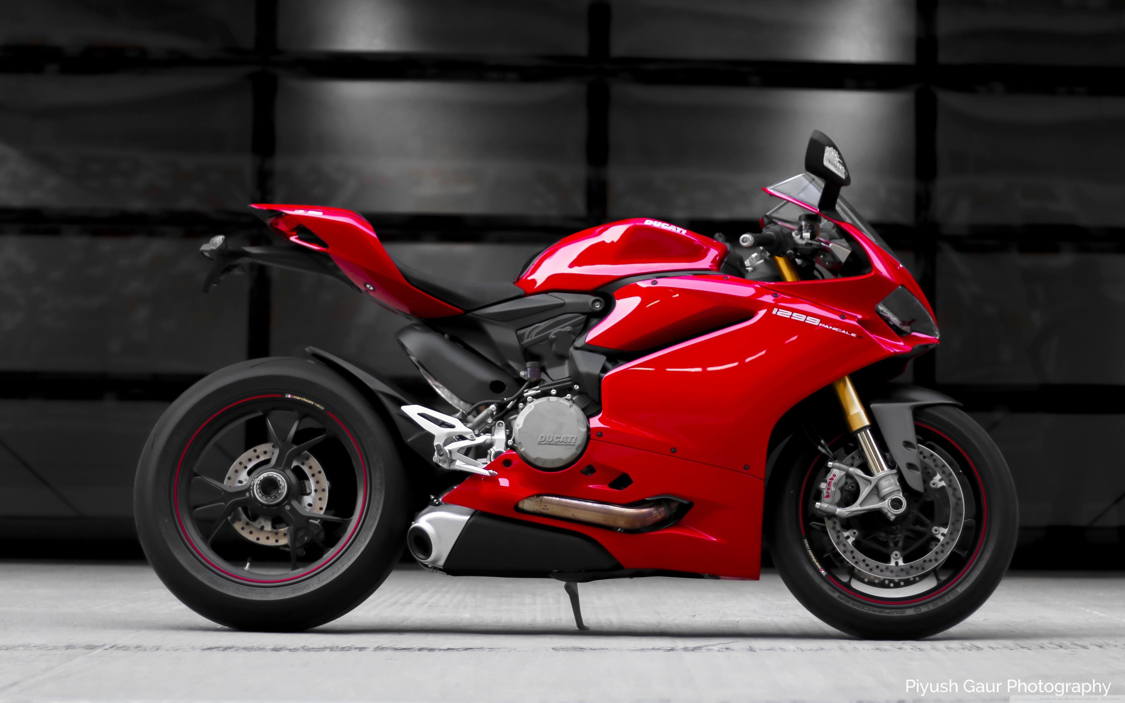 Ducati Panigale 1299S 4K HD Desktop Wallpaper for 4K Ultra HD 3840x2400