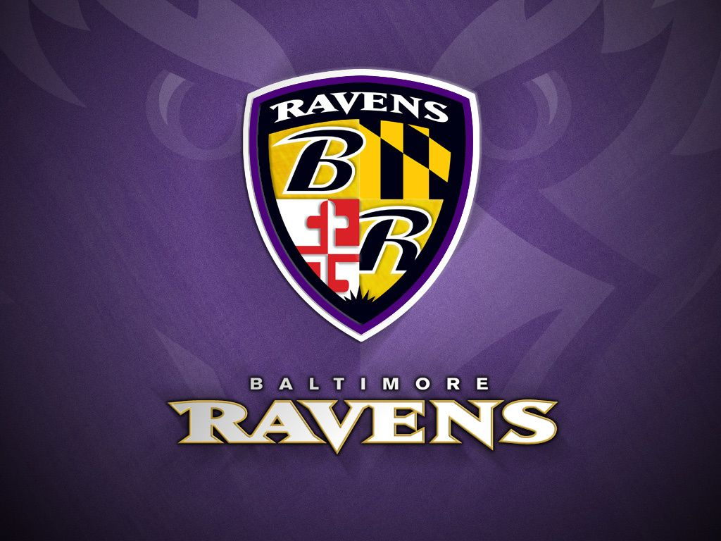 Baltimore Ravens Logo Wallpaper For Desktop 1024x768