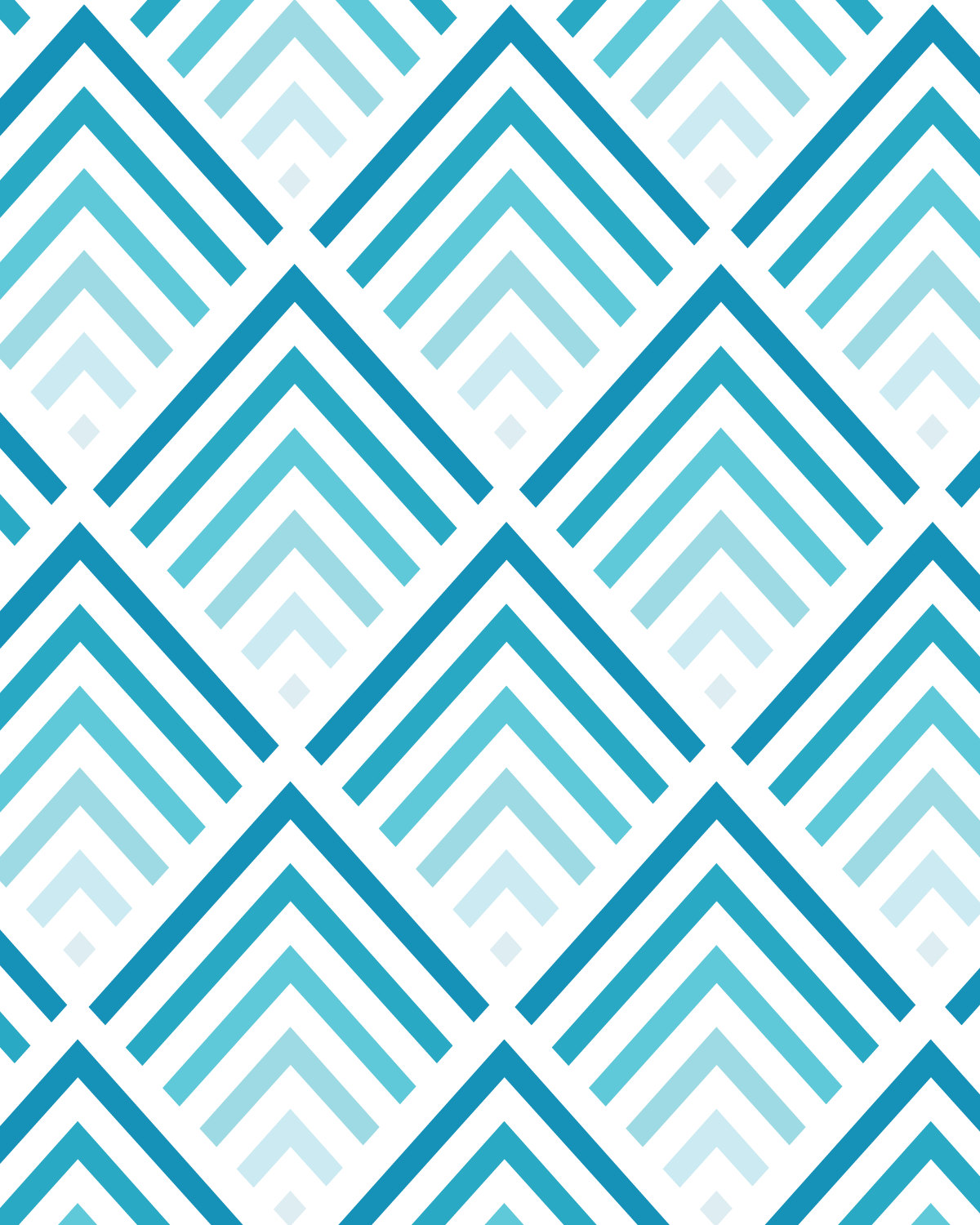 Teal and coral wallpapers wallpapersafari for Teal chevron wallpaper