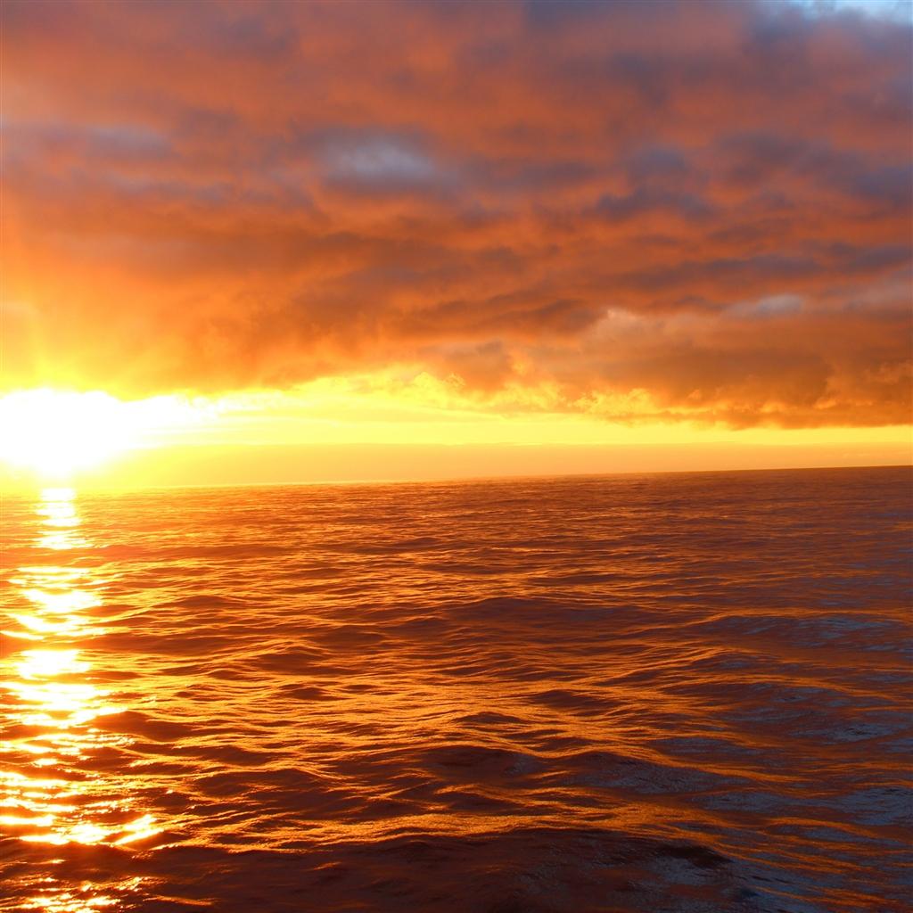 Sunrise landscape iPad Air Wallpaper Download iPhone Wallpapers 1024x1024