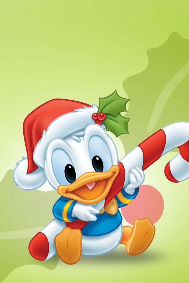 hd cute disney duck iphone 4 wallpapers backgrounds 640x960