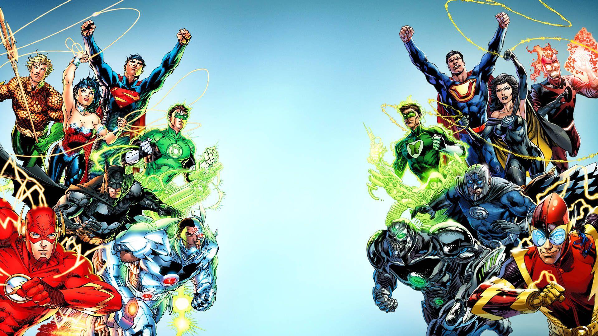 Super Heros Wallpaper 1920x1080