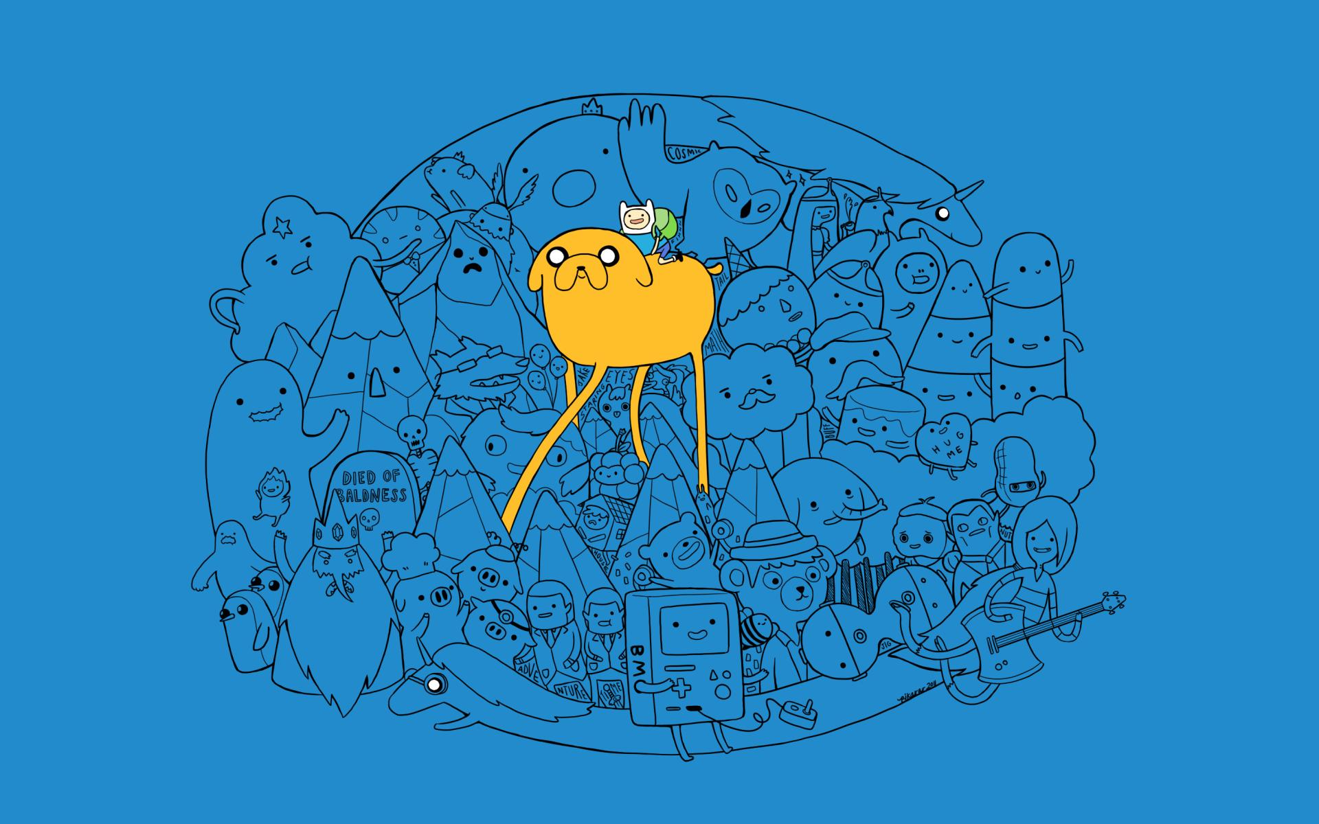 Cartoon Network Wallpaper 1920x1200 Cartoon Network Adventure Time 1920x1200