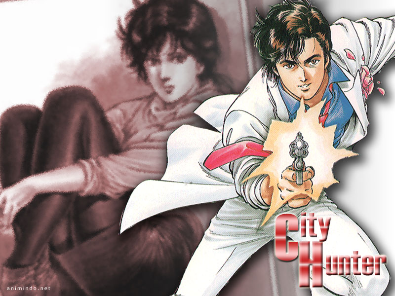 Free Download Wallpaper City Hunter Fond Dcran City Hunter