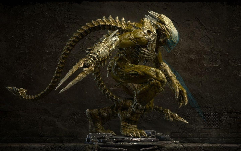 3D Alien   Wallpaper 30816 1440x900