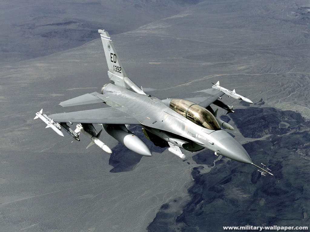 16 FightingFalcon Jet Fighter Wallpaper Jet Fighter Picture 1024x768