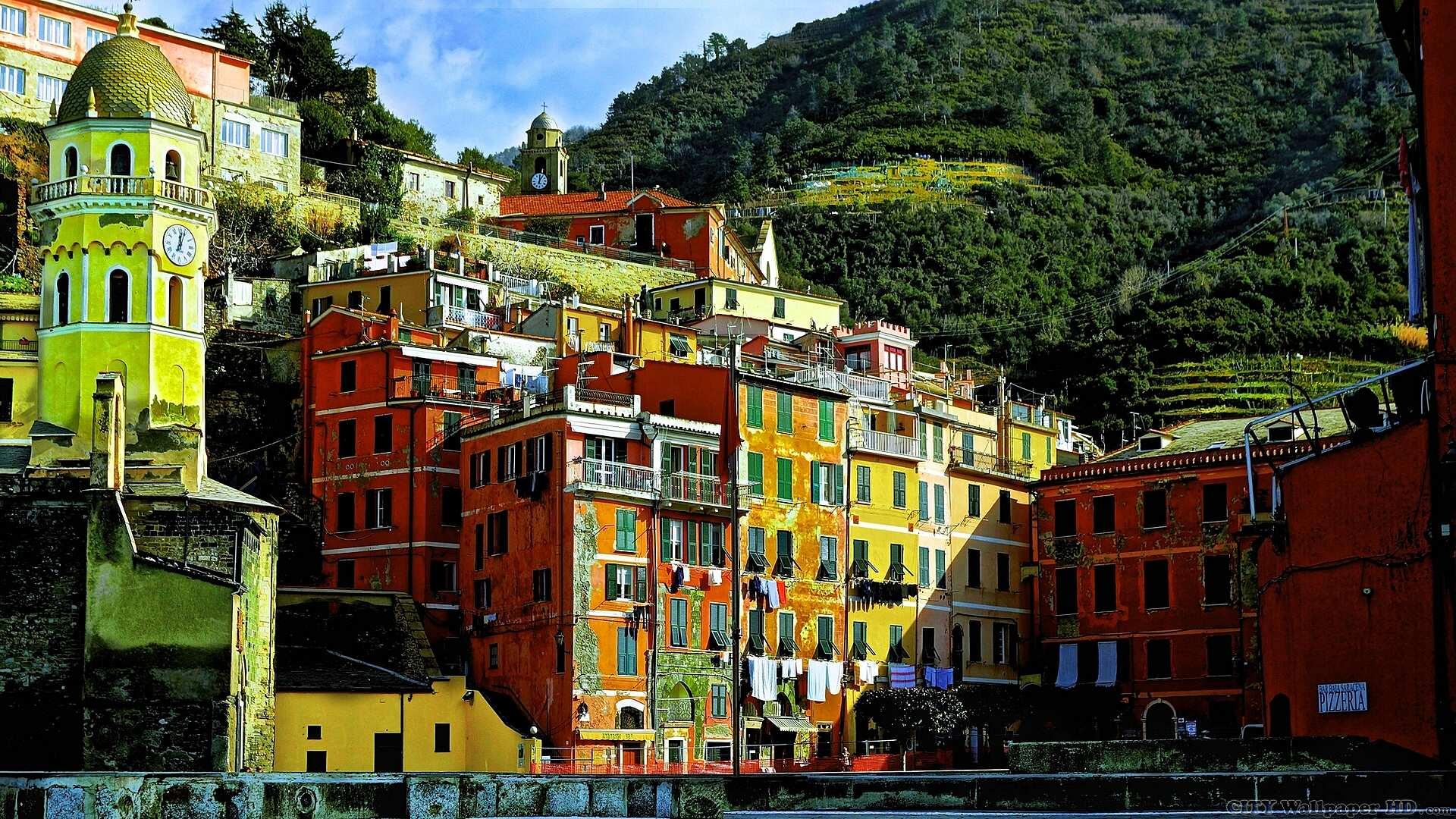 Vernazza Italy wallpaper HD backgrounds Vernazza Cinque 1920x1080
