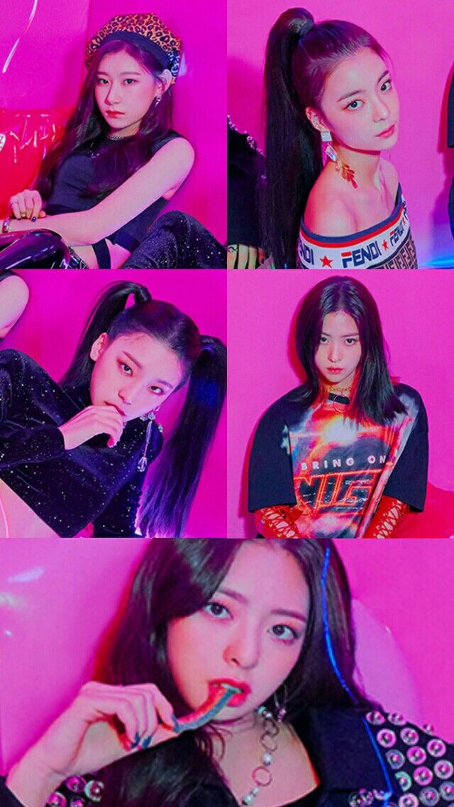 Free Download Itzy Wallpaper Chaeryeong Lia Ryujin Yeji Yuna
