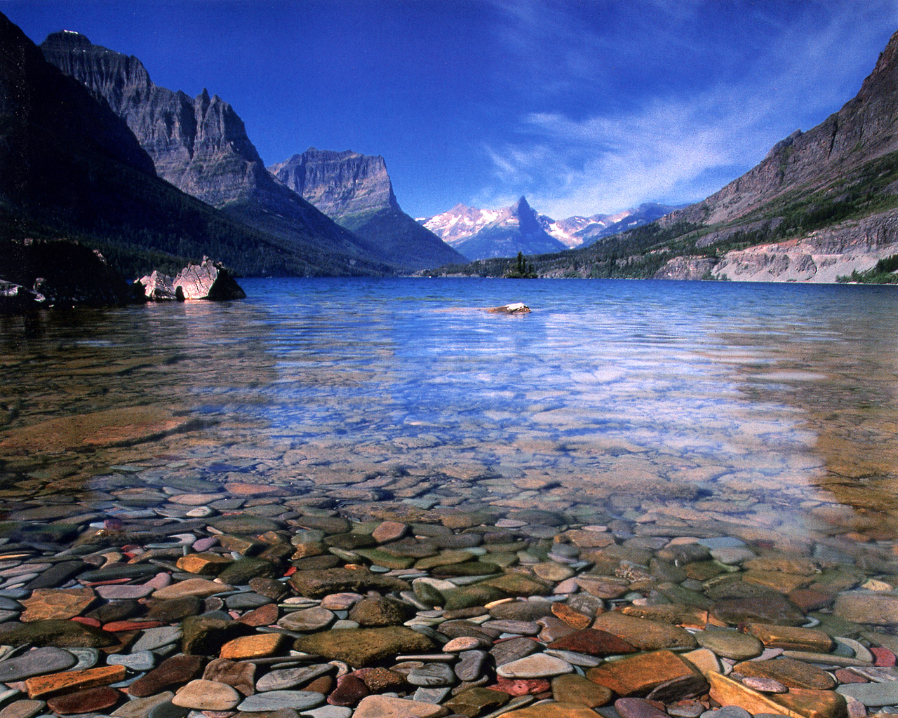 Redefining the Face Of Beauty Glacier National Park Montana 1280x1024