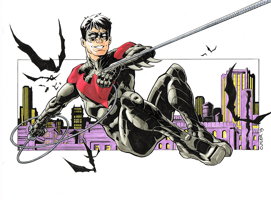 Nightwing New 52 Wallpaper Nightwing New 52 by 900x665