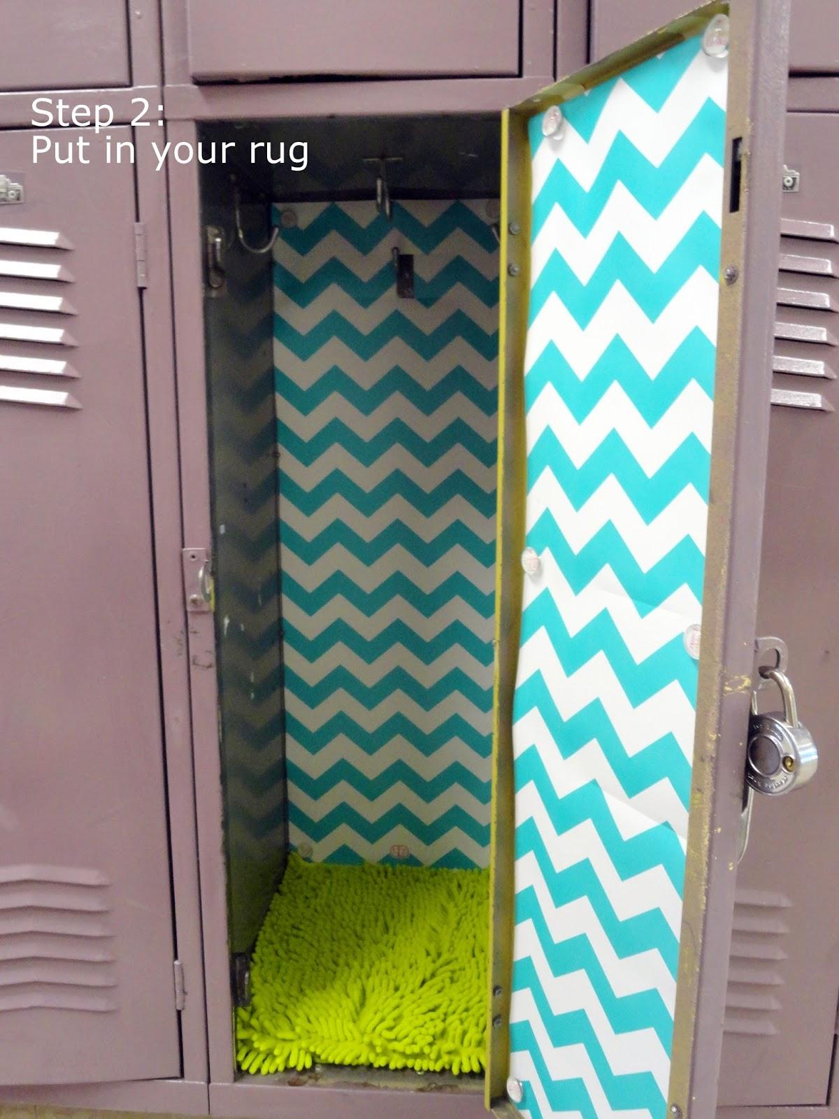 simple steps to decorating a fabulous locker with Locker Lookz 1200x1600