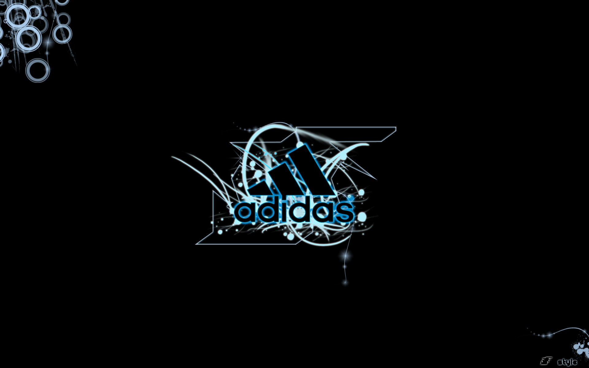 Adidas Vector Logo Wallpaper 4865   Ongur 1920x1200
