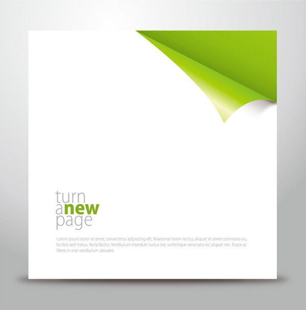 Beautifully tear paste a new page background vector graphics My 600x608