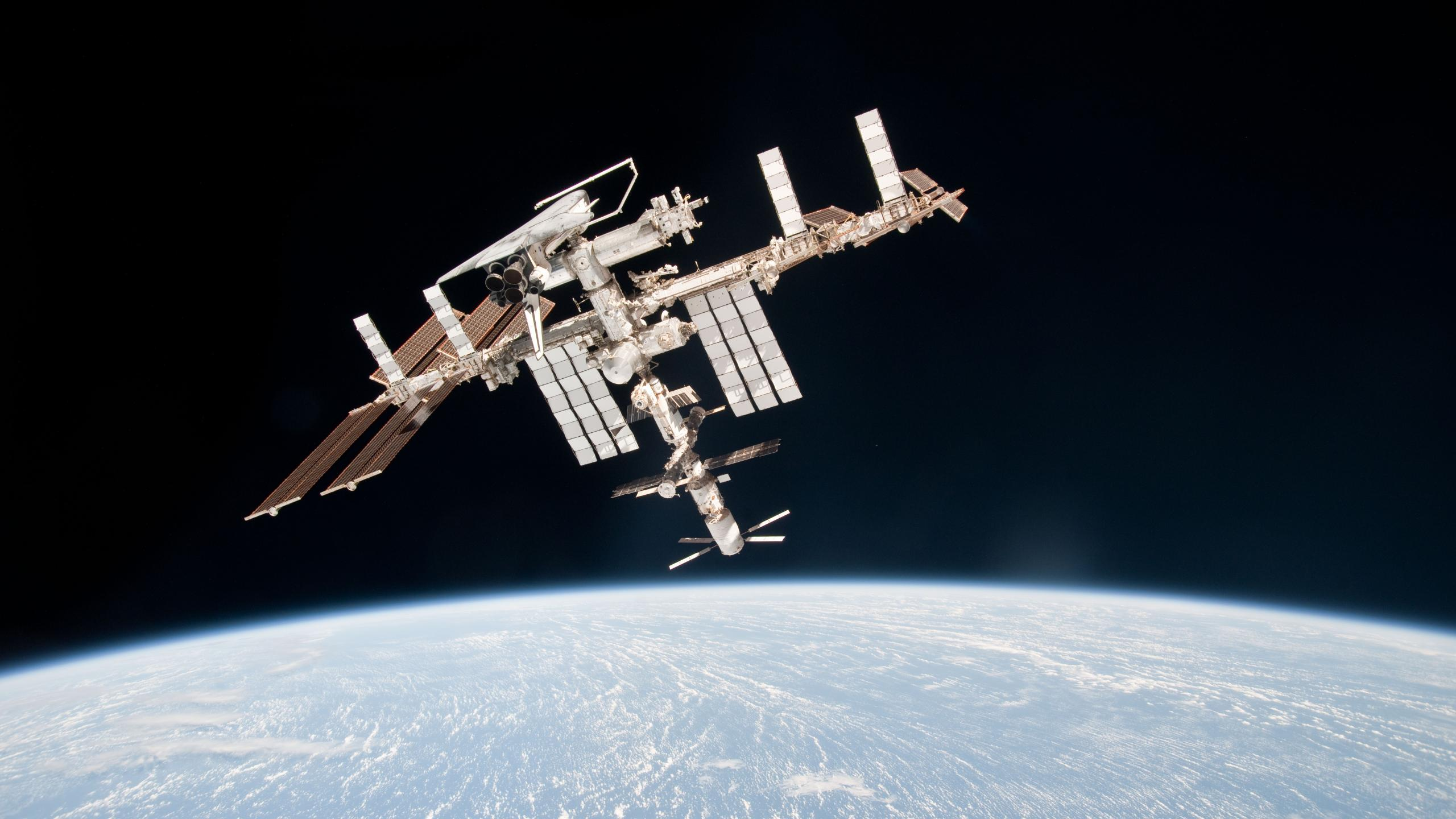 iss space shuttle nasa station endeavour Ultra or Dual High Definition ...