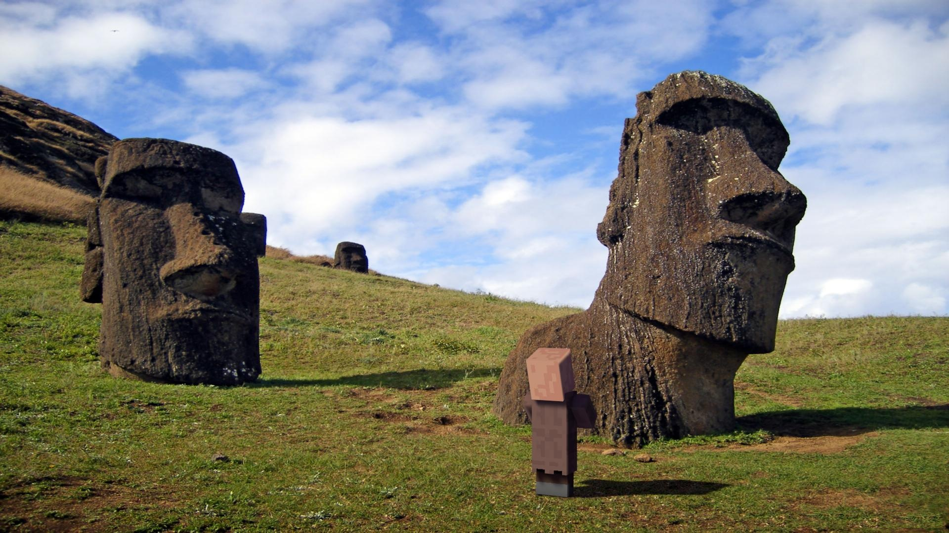 Easter Island in the Polynesian Triangle Pictures 1920x1080