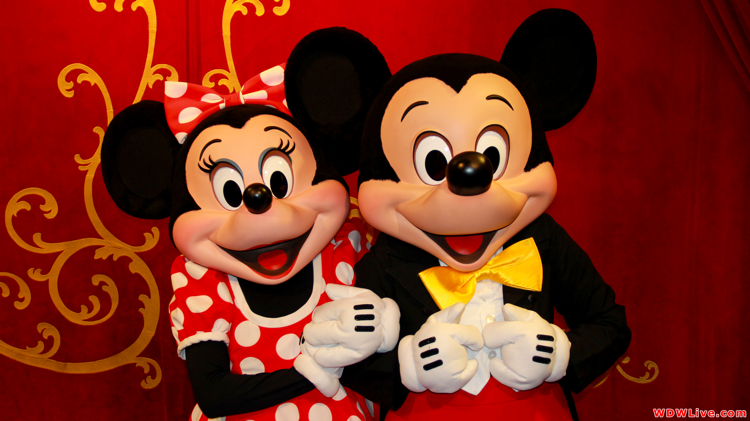 Minnie And Mickey Wallpaper Wallpapersafari